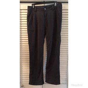 Women's Marmot Flannel Lined Gray Pants Sz 8
